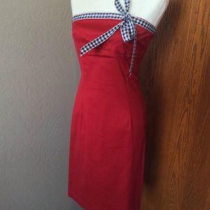 Patriotic slim tube dress. Stunning.